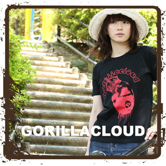 T shirt short sleeve GORILLACLOUD ♪ mi-215. ne-sorted limited message T shirt 150 S M L XL 10P10Nov13