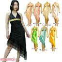 1251E◇【送料無料・即納】 スパンコールホルターネックワンピースドレス 色:選択可 全8色 サイズ:M-L ゲストドレス age嬢