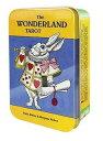 タロットカード ワンダーランド 缶入り The WONDERLAND TAROT 不思議の国のアリス 鏡の国のアリス