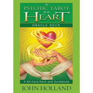サイキック タロット ハート オラクルカード The Psychic Tarot for the Heart Oracle Deck 占い オラクル 黄緑 緑 グリーン 英語のみ