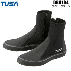ダイビング シュノーケル ブーツ 【TUSA】DB0104 3mm ダイビングブーツ 22-29cm DB-0104 【ダイビング用ブーツ】