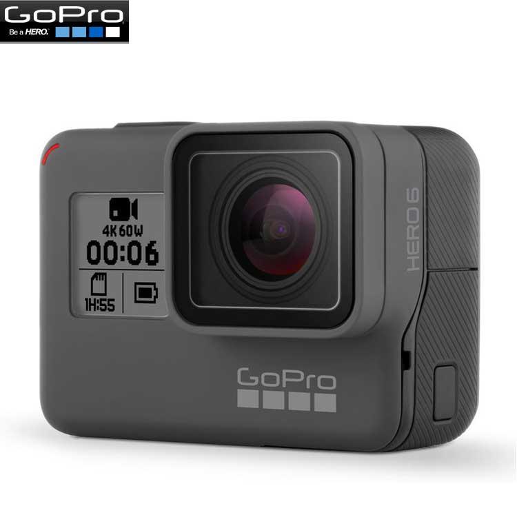 【あす楽対応】【GoPro】ゴープロ HERO6 Black ウェアラブルカメラ CHDHX-601-FW 【国内正規品】【05P23Jun18】