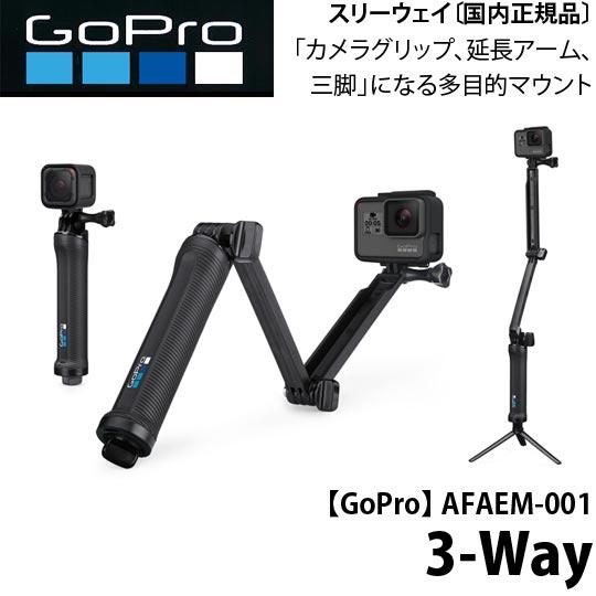【GoPro】AFAEM-001 3-Way 3ウェイ【国内正規品】【02P12Dec18】