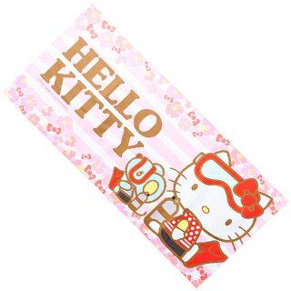 サンリオ ハローキティ マイクロファイバーフェイスタイル(ピンク)【40×90cm】【02P19Aug18】
