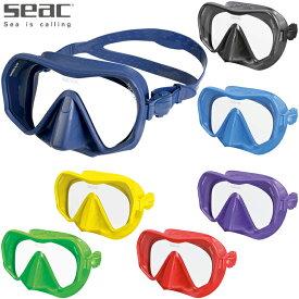 ダイビング マスク SEAC セアック TOUCH MASK タッチマスク [フレームレス1眼マスク]