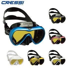 ダイビング マスク [ Cressi ] クレッシー A1 MASK ダイビング用一眼マスク [mic-point]