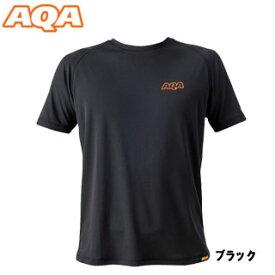 【あす楽対応】【AQA】KW-4453 パワードライラッシュ Tシャツ メンズ ブラック【在庫一掃/返品交換不可】【10P11Aug19】