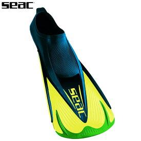 シュノーケル プール フィン SEAC セアック チームスイミングフィン/グリーン SEAC TEAM FIN/GREEN スイミングやスノーケリング用フィン