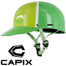 [ CAPIX ] ウェイクキャップ (グリーン / L/XLサイズ) [ウェイクボード用ヘルメット]