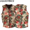【Liquid Force リキッドフォース】 2017年モデル Z-CARDIGAN COMP VEST ジップ カーディガンCOMPベスト [フローラル] ...