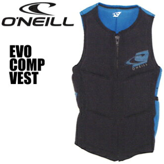 O'NEILL奥尼尔WS-1042 EVO COMP VEST evokompebesuto(黑色/天)