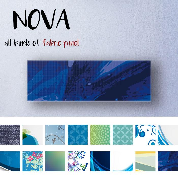 ファブリックパネル 北欧 モダン アーティスティック デジタル デザイン 宇宙 ブルー sea 青い 青 深海 水 ウォーター 数珠つなぎ 球 装飾 ガラス 生地 自作 おしゃれ 壁掛け アートパネル