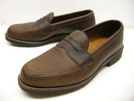【訳あり】Alden/オールデン/#J15028/カーフ クロムエクセルレザーローファーシューズ/Chromexcel leather loafer shoes/男性用/メンズ/ビジネスシューズ【ブラウンベージュ系】【サイズUS 10D(27.5-28cm)】【アウトレット】