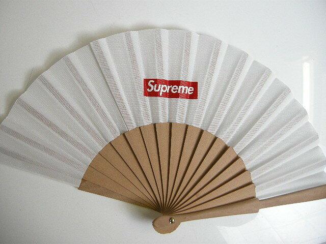 2016S/S/Supreme/シュプリーム/Sasquatchfabrix/サスクワァッチ サスクワッチ ファブリックス/Folding Fan/せんす/扇子/16SS春夏/ホワイト/白/WHITE/BOX LOGO【メンズ/レディース】