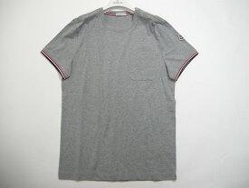 【送料無料】【MONCLER/モンクレール/ポケットTシャツ/TEE/半袖/ポケT】【メンズ/2019SS/春夏/984/グレー】【サイズS/L/XL】【80198-00-8390Y】