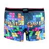 要點10倍的☆DARK SHINY Men's BoxerPants-Tetris(內衣人內衣女子的內部內衣玩笑漂亮的褲子內衣女士男性內衣)