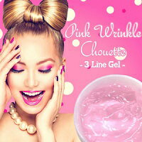 送料無料[ピンクリンクルシュエット -Pink Wrinkle Chouette- 2個セット]美容ジェル 美容液 スキンケアジェル 肌トラブル しわ ほうれい線 フェイスライン アイライン マウスライン【10P03Dec16】【whlny】