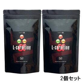 【スーパーセール 10%OFF!】L-カルニチンαL-carnitine α 大容量約6か月分 540粒 2個セット サプリメント【ネコポス対応】