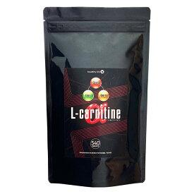 【スーパーセール 10%OFF!】L-カルニチンαL-carnitine α 大容量約6か月分 540粒 サプリメント【ネコポス対応】