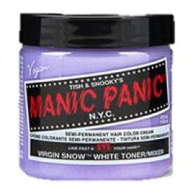 [マニックパニック ヘアカラー ヴァージンスノー](ヘアカラー アッシュ/髪染め/MANIC PANIC/カラーリング/セレブ&アーティスト系コスメ/メッシュ/カラークリーム)【宅配便対応】