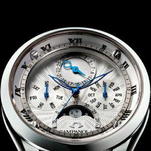 クーポンあり/レビュー特典/ポイント10倍&無金利ローン可CAMPANOLAカンパノラmoonphaseムーンフェイズ[EC4000-03A]時計腕時計女性レディース