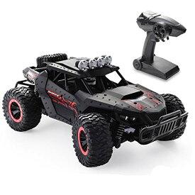 Tech rc ラジコンカー こども向け 1/16 オフロード 電動RCカー 乗り越え抜群 ドリフト 2WD リモコンカー バッテリー2個付き 35分間走