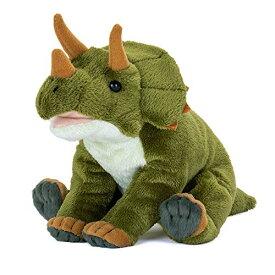 カロラータ トリケラトプス ぬいぐるみ 恐竜 (おすわりシリーズ) 17cm×14cm×20cm