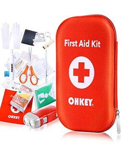 OHKEY ファーストエイド キット 救急セット ポイズンリムーバー 登山 アウトドア 防災 救急箱