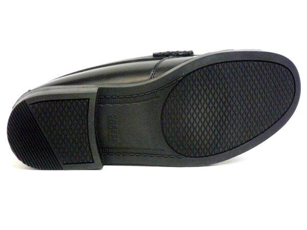 【MOONSTARBRAVASLapel】上質な合成皮革でデイリーユースにぴったり!3EローファームーンスターブラバスラペルBVL540BL