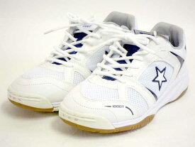スニーカー 靴 ユニセックス 体育館シューズ 室内 運動 紐 紳士 婦人 滑りにくい【MoonStar】ママさんバレーにも!ベーシックな体育館シューズ ムーンスター MS1000T