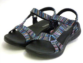 【SKECHERS】GO WAL Sandals スケッチャーズ ゴーウォーク サンダル 140013 BKMT