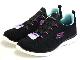 【SKECHERS】WITH MEMORY FOAM SUMMITS-FAST ATTRACTION スケッチャーズ 149036 BKLB