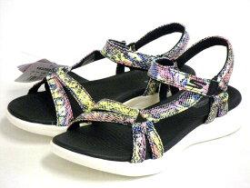 【Skechers GO WALK Sandals】スケッチャーズ ゴーウォーク サンダル 16320 BKW