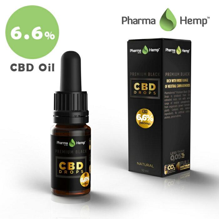 【20%OFFクーポン付】 CBD オイル CBD 含有率 6.6% 660mg 内容量 10ml フルスペクトラム ファーマヘンプ アントラージュ 高濃度 高純度 cbd oil