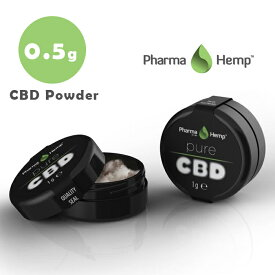 CBD クリスタル 99.6% (498mg) 0.5g ファーマヘンプ CBD パウダー 高濃度 高純度 CBD 結晶 cbd リキッド vape 電子タバコ アイソレート