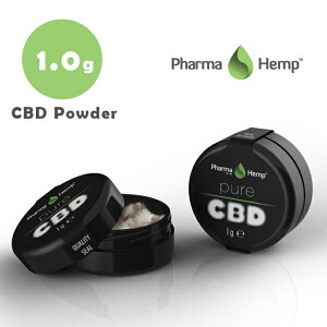 CBD クリスタル 99.6% (996mg) 1g ファーマヘンプパウダー 高濃度 高純度 結晶 cbd リキッド vape 電子タバコ アイソレート ベイプ カンナビジオール ヴェポライザー べポライザー pharmahemp 女性 禁煙