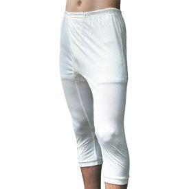シルクニット紳士(メンズ)半ズボン下 ホワイト