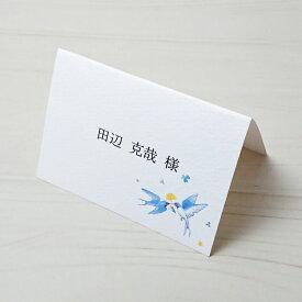 席札 手作りキット 【 空のパーティー 】 結婚式 ウェディング 1枚