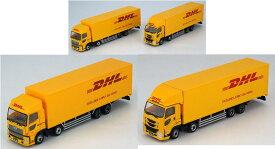 ザ・トラックコレクション DHL大型トラックセット【トミーテック・287872】「鉄道模型 Nゲージ TOMYTEC」