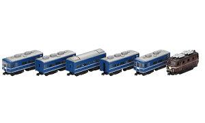 ※予約品1月発売※栄光の特急つばめ6両セット【バンダイ・822659】「鉄道模型NゲージBANDAI」