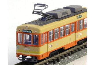 鐵是枝伊予鐵路 2000年系列 B (汽車 2006年) N 儀 TOMYTEC 火車模型