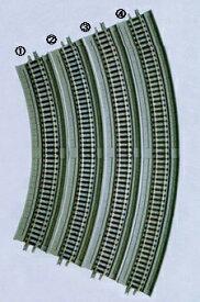 高架橋付PCレールHC243-45-PC(F)(4本セット) 【TOMIX・1873】「鉄道模型 Nゲージ トミックス」