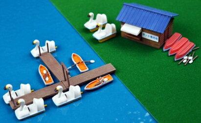 情景小物080-2 ボート乗り場2 【トミーテック・266426】「鉄道模型 Nゲージ TOMYTEC」