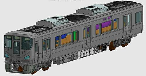 ※新製品 10月発売※車載カメラシステムセット(225-0系) (3両)【TOMIX・5595T】「鉄道模型 Nゲージ トミックス」