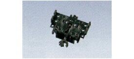 密自連形TNカプラー(SP・ボディマウント伸縮式・黒)【TOMIX・0374】「鉄道模型 Nゲージ トミックス オプションパーツ」