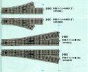 手動ポイント6番(左)【KATO・HO・2-862】「鉄道模型 HOゲージ カトー」