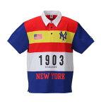 NY1903半袖ポロシャツ