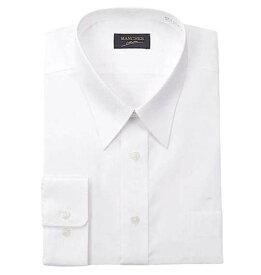 大きいサイズ メンズ レギュラーカラー長袖シャツ (ホワイト) (3L 4L 6L 8L 10L)