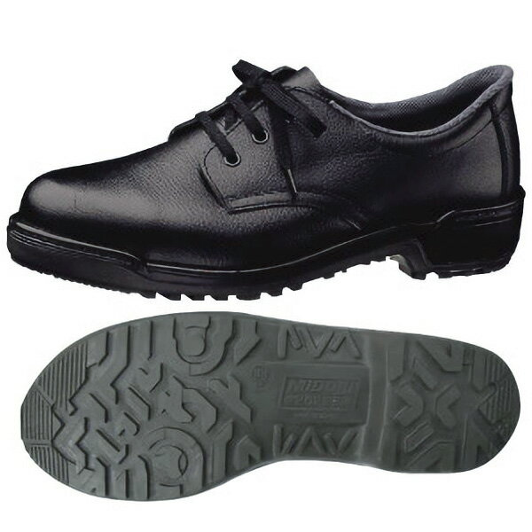 安全靴 【送料無料】 ミドリ安全 MZ010J ブラック[耐滑 軽量 短靴]【23.5〜28.5cm】