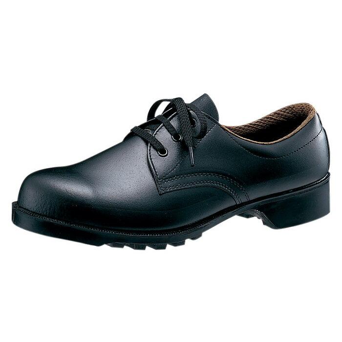 【楽天ランキング1位】 【グッドデザイン・ロングライフデザイン賞 受賞】 安全靴 ミドリ安全 耐油 耐薬 鋼製先芯 ゴム底 安全靴 V251NT ブラック